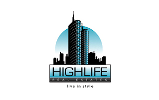 Highlife Real Estate & Construction Logo Design