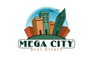 Mega City Real Estate & Construction Logo Design