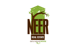 Neer Real Estate Real Estate & Construction Logo Design