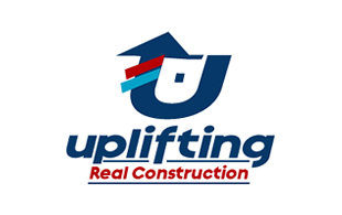 Uplifting Real Construction Real Estate & Construction Logo Design