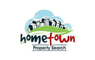 Hometown Real Estate & Construction Logo Design