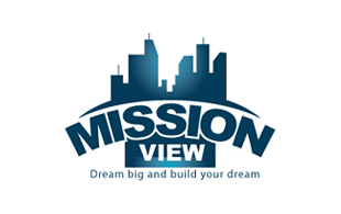 Mission View Real Estate & Construction Logo Design