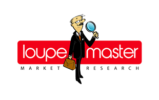 Loupe Master Research and Development Logo Design