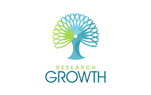 Research Growth Research and Development Logo Design