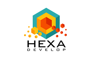 HEXA Research and Development Logo Design