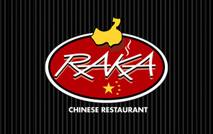Raka Chinese Restaurent Restaurant & Bar Logo Design