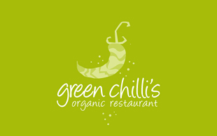 Green Chilli's Restaurant & Bar Logo Design