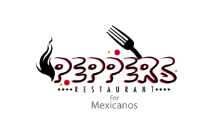 Peppers Restaurant & Bar Logo Design