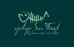 Golgo Sea Food Restaurant & Bar Logo Design