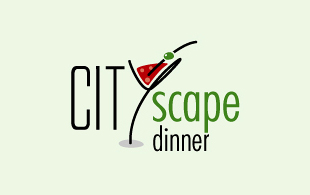 City Scape Dinner Restaurant & Bar Logo Design