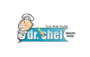 Dr. Chef Restaurant & Bar Logo Design
