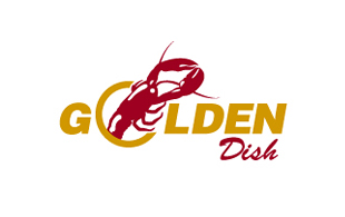 Golden Dish Restaurant & Bar Logo Design