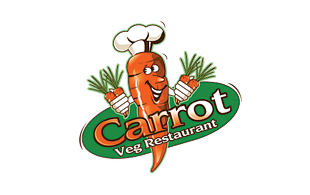 Carrot  Restaurant & Bar Logo Design
