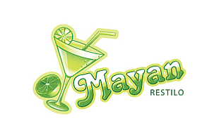 Mayan Restilo Restaurant & Bar Logo Design