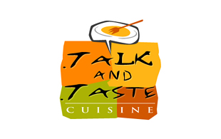 Talk & Taste Restaurant & Bar Logo Design