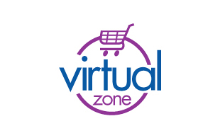 Virtual Zone Retail & Sales Logo Design