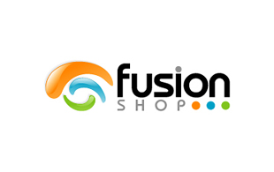 Fusion Shop Retail & Sales Logo Design