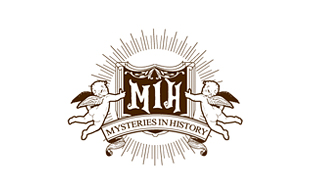 Mysteries In History Retro Logo Design
