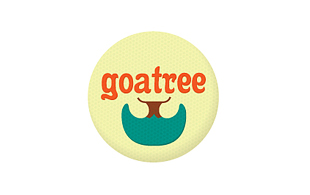 Goatree Retro Logo Design