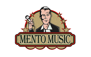Mento Music Retro Logo Design