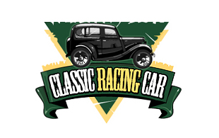 Classic Racing Car Retro Logo Design