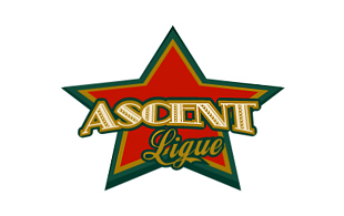 Ascent Lique Retro Logo Design
