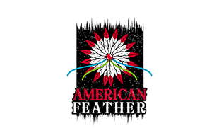 American Feather Rugged Logo Design