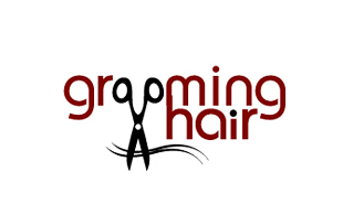 Grooming Hair Salon & Day-Spa Logo Design