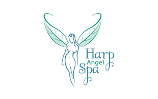 Harp Angel Spa Salon & Day-Spa Logo Design