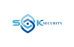 SQK Security Security & Investigations Logo Design