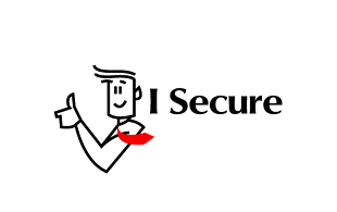 I Secure Security & Investigations Logo Design