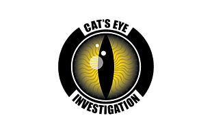 Cat's Eye Investigation Security & Investigations Logo Design