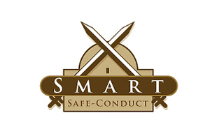 Smart Safe Conduct Security & Investigations Logo Design