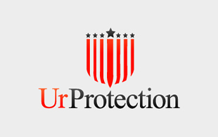 UR Protection Security & Investigations Logo Design