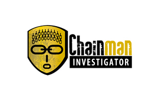 Chainman Investigator Security & Investigations Logo Design