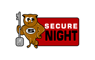 Secure Night Security & Investigations Logo Design