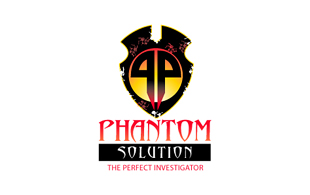 Phantom Solution Security & Investigations Logo Design