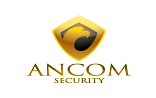 Ancom Security Security & Investigations Logo Design