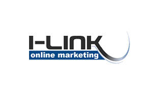 I-Link Online Marketing Textual Logo Design