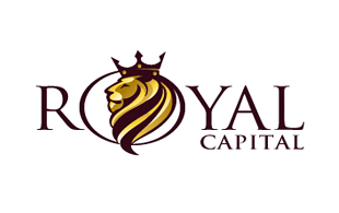 Royal Capital Textual Logo Design