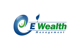 E-Wealth Wealth Management & Financial Services Logo Design