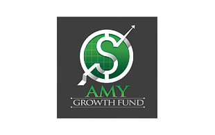 Amy Growth Fund Wealth Management & Financial Services Logo Design