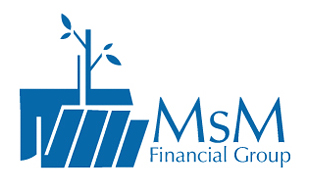 MsM Financial Group Wealth Management & Financial Services Logo Design