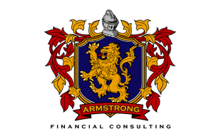 Armstrong Wealth Management & Financial Services Logo Design