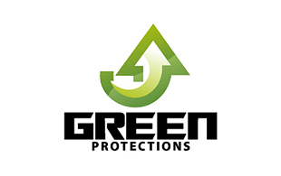 Green Protections Wealth Management & Financial Services Logo Design