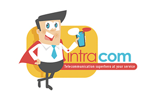 Mintra.com Wireless & Telecommunication Logo Design