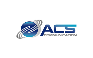 ACS Communication Wireless & Telecommunication Logo Design