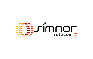 Simnor Telecom Wireless & Telecommunication Logo Design