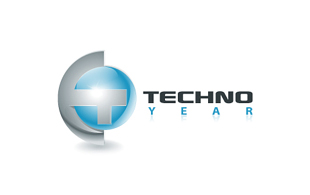 Techno Year Wireless & Telecommunication Logo Design