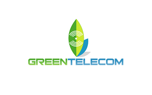 Green Telecom Wireless & Telecommunication Logo Design